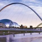 Newcastle, de winkelstad in het noorden van Engeland
