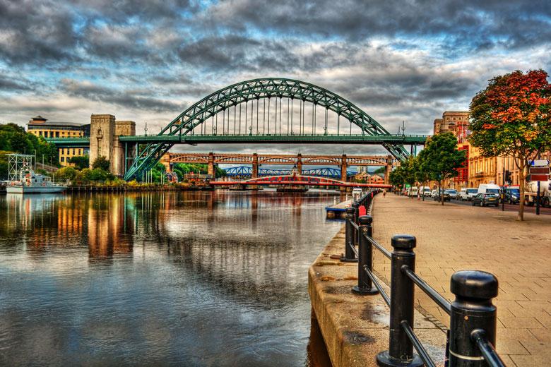 Newcastle bezienswaardigheden - bruggen