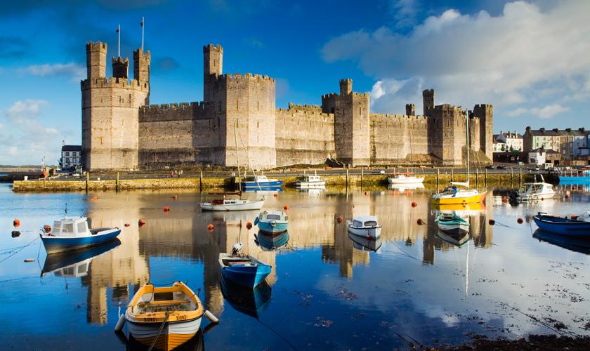 Kastelen Wales - Caernarfon Castle