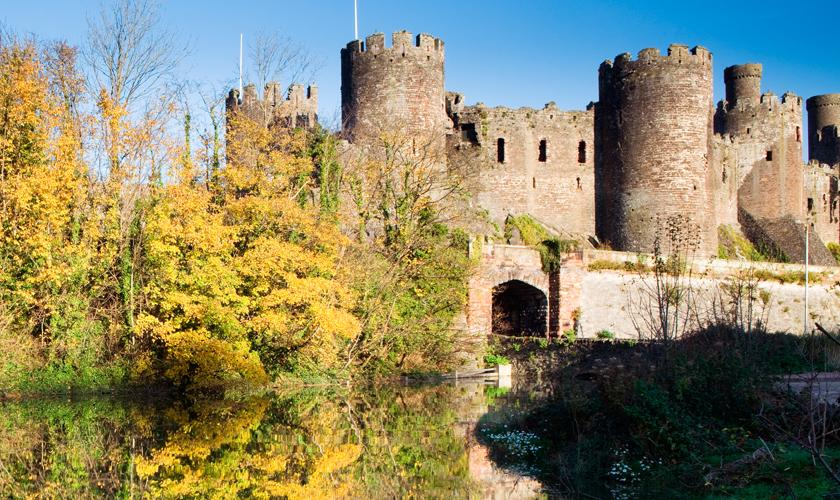 Conwy Castle - de mooiste kastelen van Wales