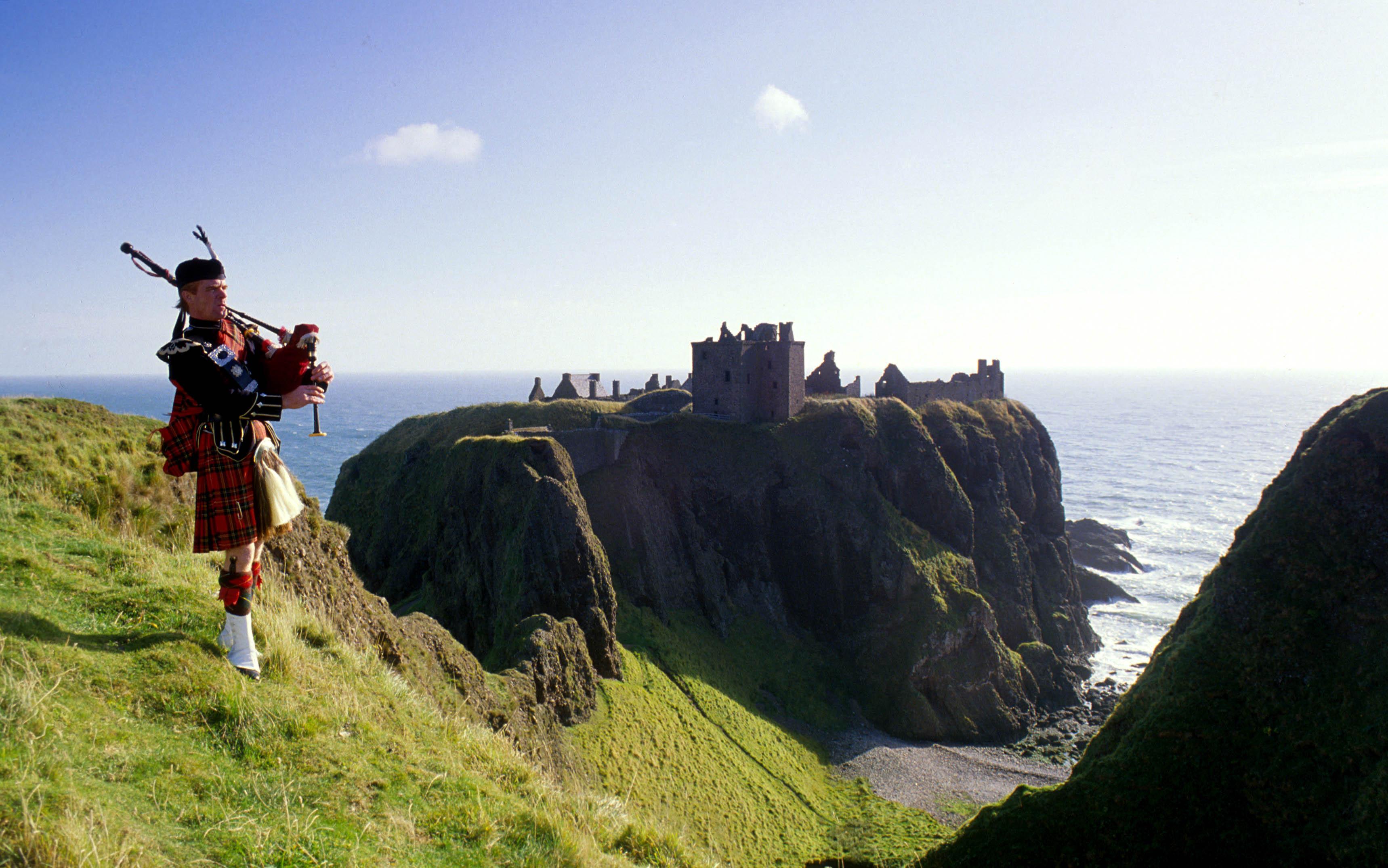 Kastelen in Schotland - Dunnottar Castle