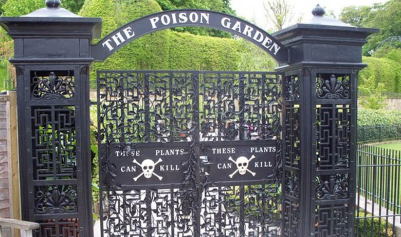 Alnwick Castle en Alnwick Poison Garden