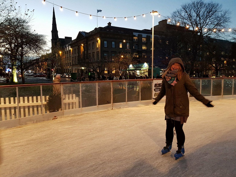 Schaatsen in Edinburgh