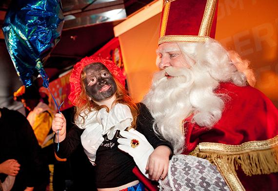 Sinterklaasfeest aan boord