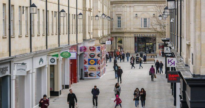 Shoppen in Bath