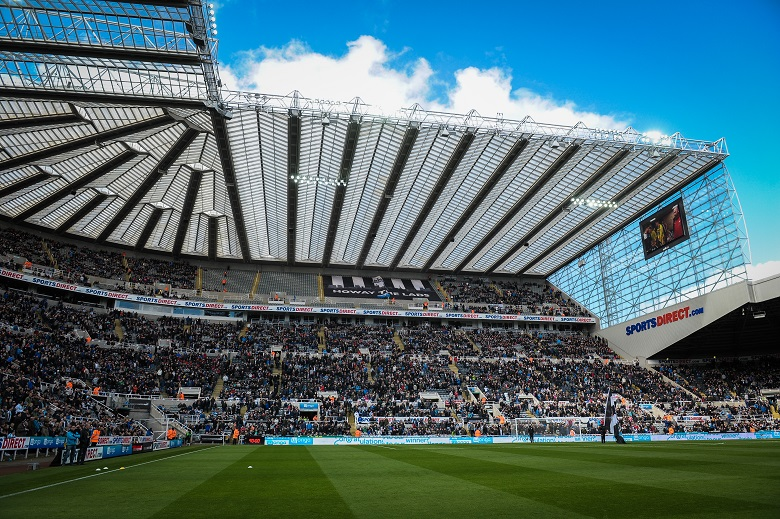 St. James Park - het stadion van Newcastle United