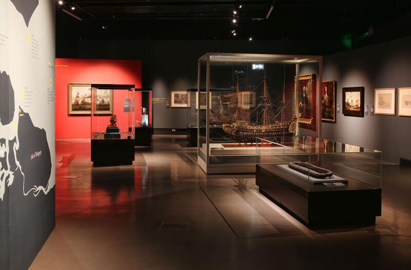 Breaking the Chain - tentoonstelling over de Slag bij Medway
