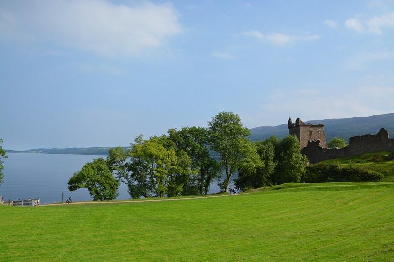 Fietsen rond Loch Ness