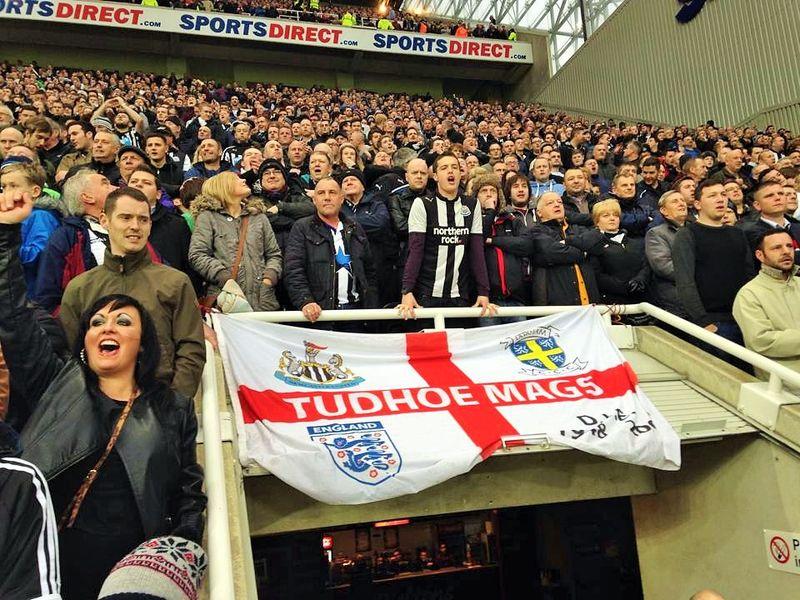 Voetbalreis naar Newcastle - St. James' Park