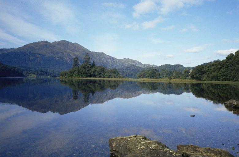 Lochs in Schotland - Loch Achray