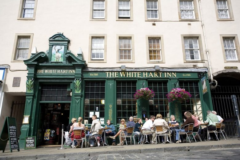 De leukste pubs van Edinburgh The White Hart Inn, Grassmarket