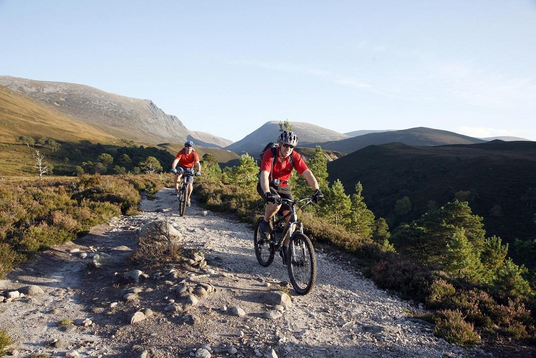 Mountainbiken in het Nationale Park