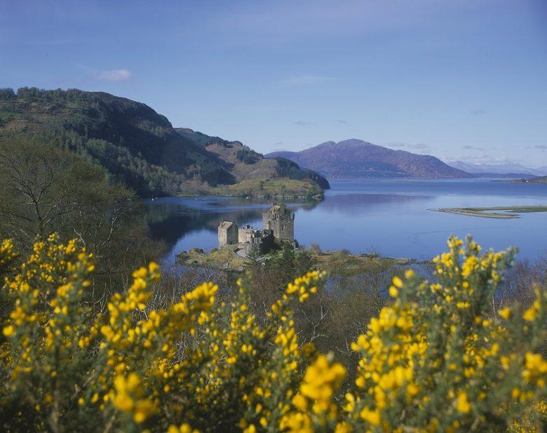 Lente in Schotland - Eilean Donan Castle