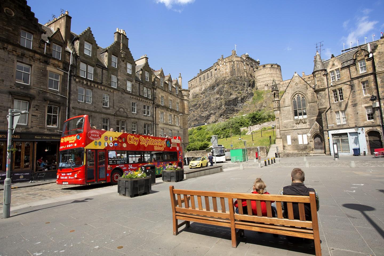 Hip en authentiek Edinburgh