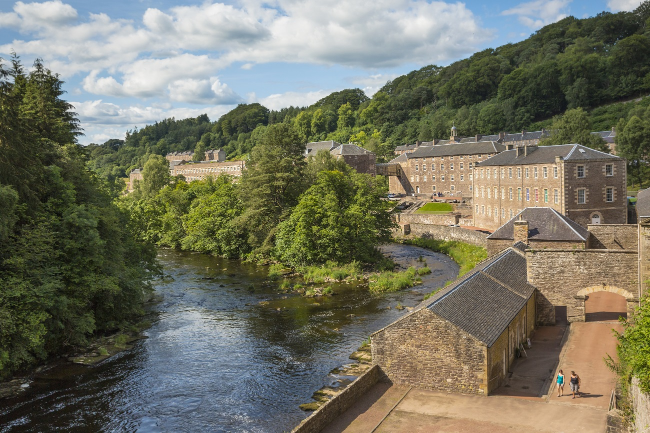 New Lanark Visitor Centre - VisitScotland / Kenny Lam, all rights reserved