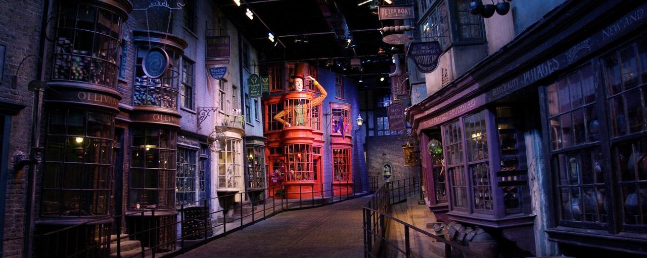 De Wegisweg in de Warner Bros Studios