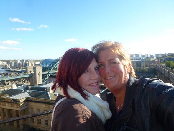 Wilma en haar dochter