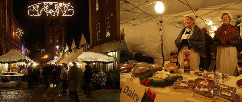Kerstmarkt Wrexham